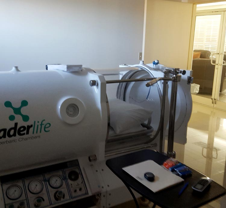 New Hope Hyperbaric Chamber Close Up