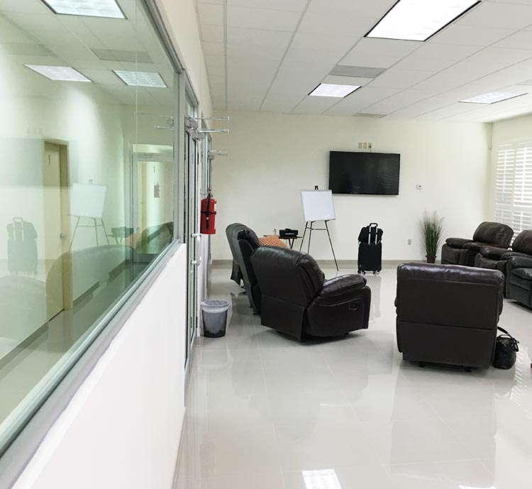 New Hope Unlimited Patient Lesson Room